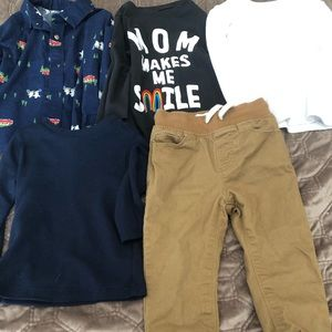 Bundle of boys 2T old navy clothes